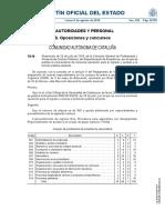 Convocatoria Oposiciones 2017 profesorado