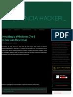 Invadindo Windows 7 e 8 (Conexão Reversa)