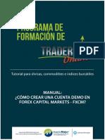 ManualCrearCuentaFXCM-InvertirMejor