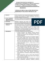 Revisi Sop Pengajuan Kelayakan Etik Penelitian SOP