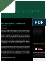 Metasploitable - Hacker Lab