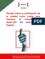 Estudio Certificacion Calidad Software