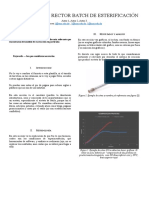 Analisis de Un Rector Batch de Esterificación (Autor 1, Autor 2, Autor 3)