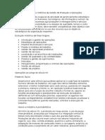 Introdução e Evolução Histórica Da Gestão de Produção e Operações