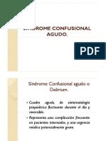 Síndrome Confusional Agudo PDF