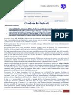 Cessione Fabbricati - Prontuario