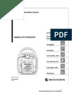 Desfibrilador AED-2100K - Nihon Kohden