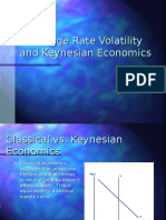 Exchange Rate Volatility and Keynesian Economics