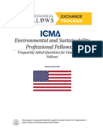 FAQ Environmental Professional Fellows Program 2017