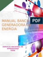 Banco Generadora de Energia