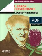 Alexander Von Humboldt-el Baron Trashumante