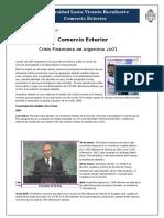 Comercio Crisis Argentina