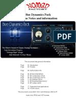 BlueTubes Dynamics