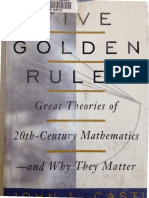 Five Golden Rules - Great Theories of 20th Century Mathematics - Casti