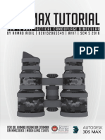 Tactical Camo Binocular 3ds Max Tutorial