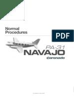 PA31-310 Normal procedures.pdf