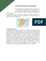 Formación y Evolucion Del Castellano