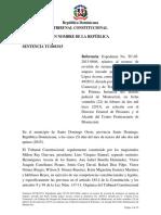 Sentencia TC 0033-15 C