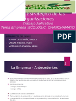 ECOLOGIC CHANCHAMAYO pptx