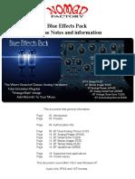 BlueTubes Effects