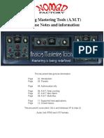 Analog Mastering Tools