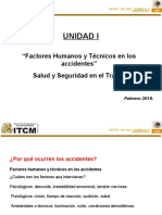 U1 Factores Humanos y Técnicos en Los Accidentes