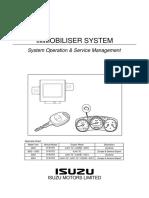 Immobiliser System Operation