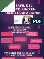 perfil Del Psicologo en Salud Ocupacional