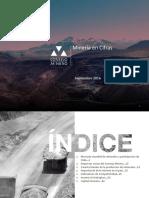 Minería en Cifras - Septiembre 2016