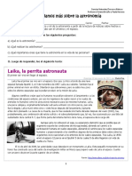 Guia Aprendamos Mas Sobre Astronomia (Noticias Laika, Gagarin)