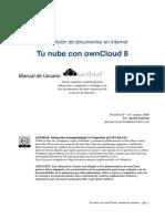 Nube OwnCloud, Manual de Usuario v0.9