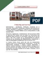 Cuenta Publica 2013