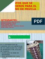 Para Diseño de Mezcla