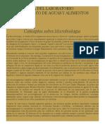 Guía Práctica Del Laboratorio Microbiologico de Aguas y Alimentos