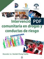 Intervención Comunitaria en Drogas
