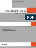 Child Malnutrition Issue