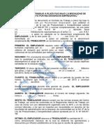 Contrato Por Recorversion Empresarial
