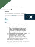 Otras Fuentes Para Proyecto de Investigación Sobre El Anthrax