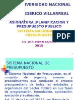 3.- Sistema Nacional de Presupuesto