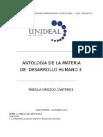 Antología Des. Humano Lpp 4to