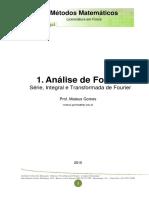 [1] Análise de Fourier - Série Integral e Transformada de Fourier