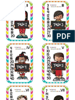 Tablas de Multiplicar Formato Librito