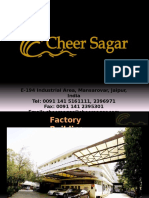 Cheer Sagar Factory