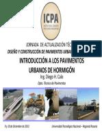 02 - Introducción a Los Pavimentos Urbanos de Hormigón