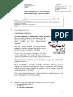 Guía lectura complementaria Un Perro Chileno