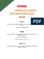 PostgreSQL - Dicas de Comandos SQL Essenciais