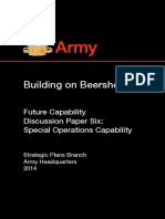 Special Operations Capability 2014