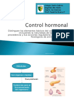 Control Hormonal, 2do Medio Bueno