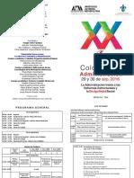 Programa Xx Coloquio de Administracion