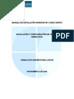 Manual de Instalación Windows 8 y Linux Centos1